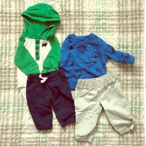 Carter's 3 month boy outfits
